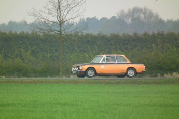 BMW in actie